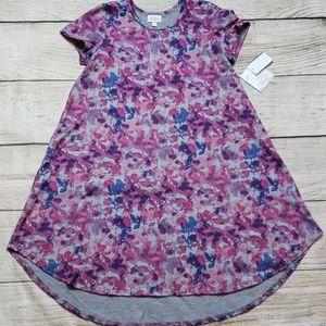 Lularoe Girls 12 Scarlett Dress NWT